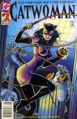 1993 - DC - Catwoman - Issue #1 - Comic Book
