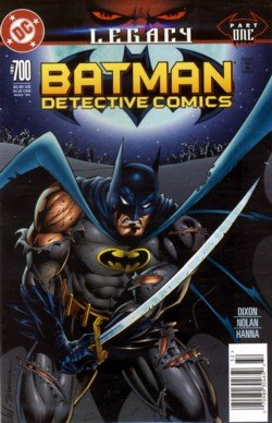 1996 - DC - Batman  - Detective Comics - Legacy - Issue #700 - Comic Book