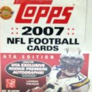 2007 - Topps - NFL Football - Jumbo Hobby - Sports Card Box