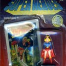 1990 - ERTL - DC Comics - Super Heroes - Super Girl - Die Cast Metal - Collectible Figure