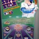1990 - Super Star - National League - Set #3 - Collectable Action Marbles