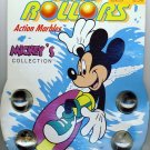 1990 - Rad Rollers - Walt Disney Company - Mickey's Collection - Collectable Action Marbles