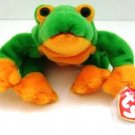 Ty - The Original - Beanie Baby - Smoochy - Frog - Plush Toys