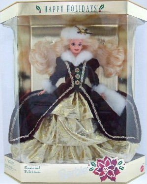 1996 - Mattel - Barbie - Special Edition - Happy Holidays - Christmas Barbie