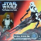 1996 - Imperial Speeder Bike - Action Figures - Star Wars - The Power Of The Force - Galactic Empire