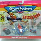 1993 - Micro Machines - Marvel - Spider-Man Collection I & II Set