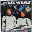 1997 - Star Wars - Rebel Alliance - Han Solo & Luke Skywalker - Collector Series - Toy Action Figure