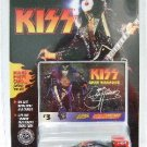 1997 - Die-cast Metal - Johnny Lightning - KISS - #3 Card - Paul Stanley Car