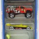 1997 - Mattel - Hot Wheels - 5 Car Gift Pack - Racing World
