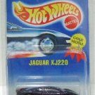 1991 - Jaguar XJ220 - Mattel - Hot Wheels -  Gray Interior - Collector  #203