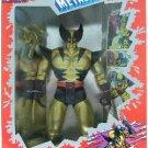 """1994 - Toy Biz - Marvel Comics - X-Men - Metallic Mutants - Deluxe Edition - 10"""" Wolverine"""