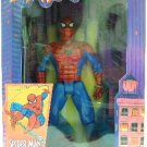 "1994 - Action Figures - Toy Biz - Marvel Comics - Spider-Man - Deluxe Edition - 10"" Spider-Man"