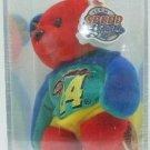 1999 - NASCAR - Authentic - Team Speed Bears - #24 Jeff Gordon - Rainbow Plush Bear