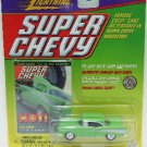 1999 - Johnny Lightning - Super Chevy - 1957 Lime Chevy - Die-cast Metal Cars