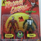 1994 - Toy Biz - Marvel Comics - The New Animated Series - Maximum Carnage -   Carnage  vs. Venom