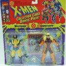 1994 - Marvel Comics - X-Men - Collector Card Bonus Pack - Wolverine vs. Sabretooth