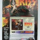 1997 - Die-cast Metal - Johnny Lightning - KISS (Alive Album) - #47 Card - Peter Criss Car