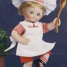 1995 - Danbury Mint - Campbell Kids - Porcelain Doll Collection - The Dancing Chef