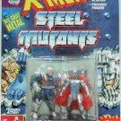 1994 - Marvel Comics - X-Men - Steel Mutants - Cable vs. Stryfe - Die Cast Metal