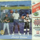1992 - Classic - Four Sport Draft Pick Collection - Limited Edition - Commemorative Series Sheet