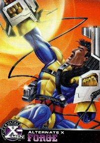 1995 - Marvel - Fleer Ultra - X-Men - Alternate X - Forge - #9 of 20