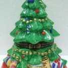 Beautiful Ceramic - Chistmas Tree - Trinket Box