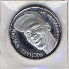 1994 - Enviromint - Michael Jordan - Baseball - Barons - Factory Sealed - Silver Coin