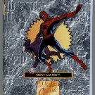 1996 - The Highland Mint - Marvel Classic - Comics Collection - Bronze - Spider-Man - Mint Card