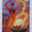 1994 - Marvel - Masterpieces - Scarlet Witch - Holofoil - #7 of 10
