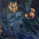1995 - Fleer - Marvel - Punisher - Limited Edition - Metal Blast - #9 of 18