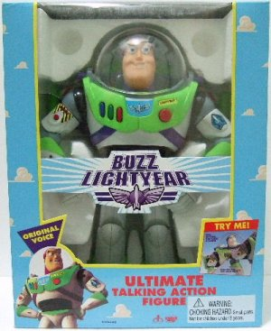 "1995 - Disney - Buzz Lightyear - 1st Original Edition - 12"" Ultimate Talking Action Figure"