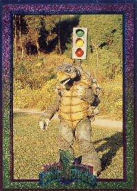 1994 - Mighty Morphin - Power Rangers - Power Foil Subset - Shellshock - #47