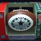 Touchdown Treasures - NFL - Dallas Cowboys - A Collectible Ornament - Silver