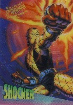 1995 - Marvel - Fleer Ultra - Spider-Man - Clear Chrome - Shocker - #8 of 10