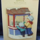 2007 Hallmark Keepsake Ornament Club Christmas Window 5th in the Series Ornament