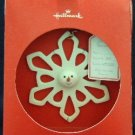 2007 Hallmark Snowman Snowflake Ornament Decoration