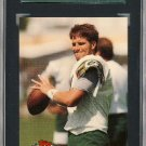 1992 Topps Stadium Club High No.683 Brett Favre Rookie Card SGC 96 Mint