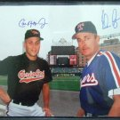 1995 Cal Ripken Jr. / Nolan Ryan Signed 11x14 Photo COA Included