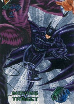 1995 - DC - Fleer Entertainment - Metal - Batman Forever - Silver Flash - Moving Target - #64