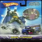 2003 - Mattel - Hot Wheels - DC Comics - Batman vs. Catwoman - Diecast 2 Car Set