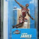 "2005 - LeBron James - Sports Action Figure - McFarlane's - 3"" Mini Series - Basketball - Cavaliers"