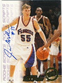 1998 - Jason Williams - Press Pass - Autographed Card