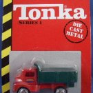 1998 - Maisto - Tonka - 50th Anniversary - Series 1 - Red & Green Dump Truck - Die-Cast Metal