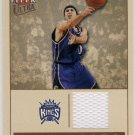 2004/05 - Mike Bibby - Fleer Ultra - Point Gods - Game Jersey Card - #PG/MB 215/250