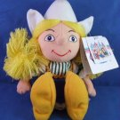 "The Disney Store - Exclusive - Holland Girl Small World - 10"" Bean Bag - Toy Doll"