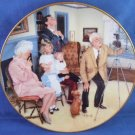 1985 - Gorham Fine China - American Family Collection - Limited Edition Collectors Plate