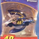 2006 - Tervco - NASCAR - Jimmy Johnson - Dated Collectible - Christmas Ornament