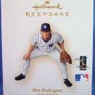2006 - Hallmark - Keepsake Ornament - Alex Rodriguez - At The Ballpark Series - Christmas Ornament
