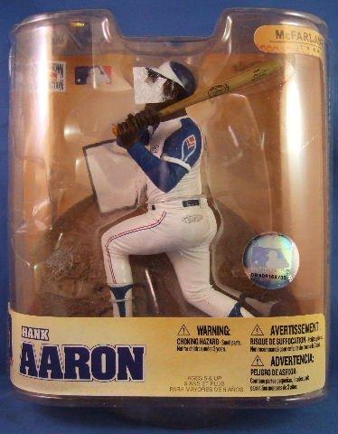 2008 - Hank Aaron - McFarlane's - Cooperstown Collection - Braves - Baseball