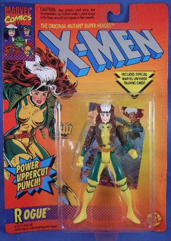 1994 - Toy Biz - Marvel Comics - X-Men - The Original Mutant Super Heroes - Matching Card - Rogue